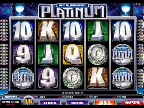 Play Pure Platinum Casino Game