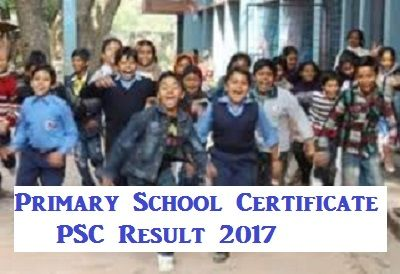 primary school certificate psc result 2017 somaponi result 2017
