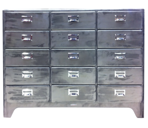 Dulton 5 Drawer Cabinet 3 Columns   Complete Pad ®