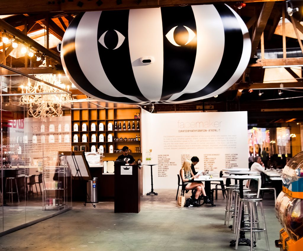 Cognoscenti Coffee Pop Up At Royal T Caf Culver City California Culver City California