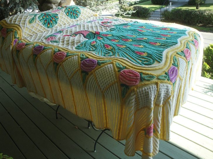 Old Chenille Bedspreads Hot Vintage Item To Sell On Ebay