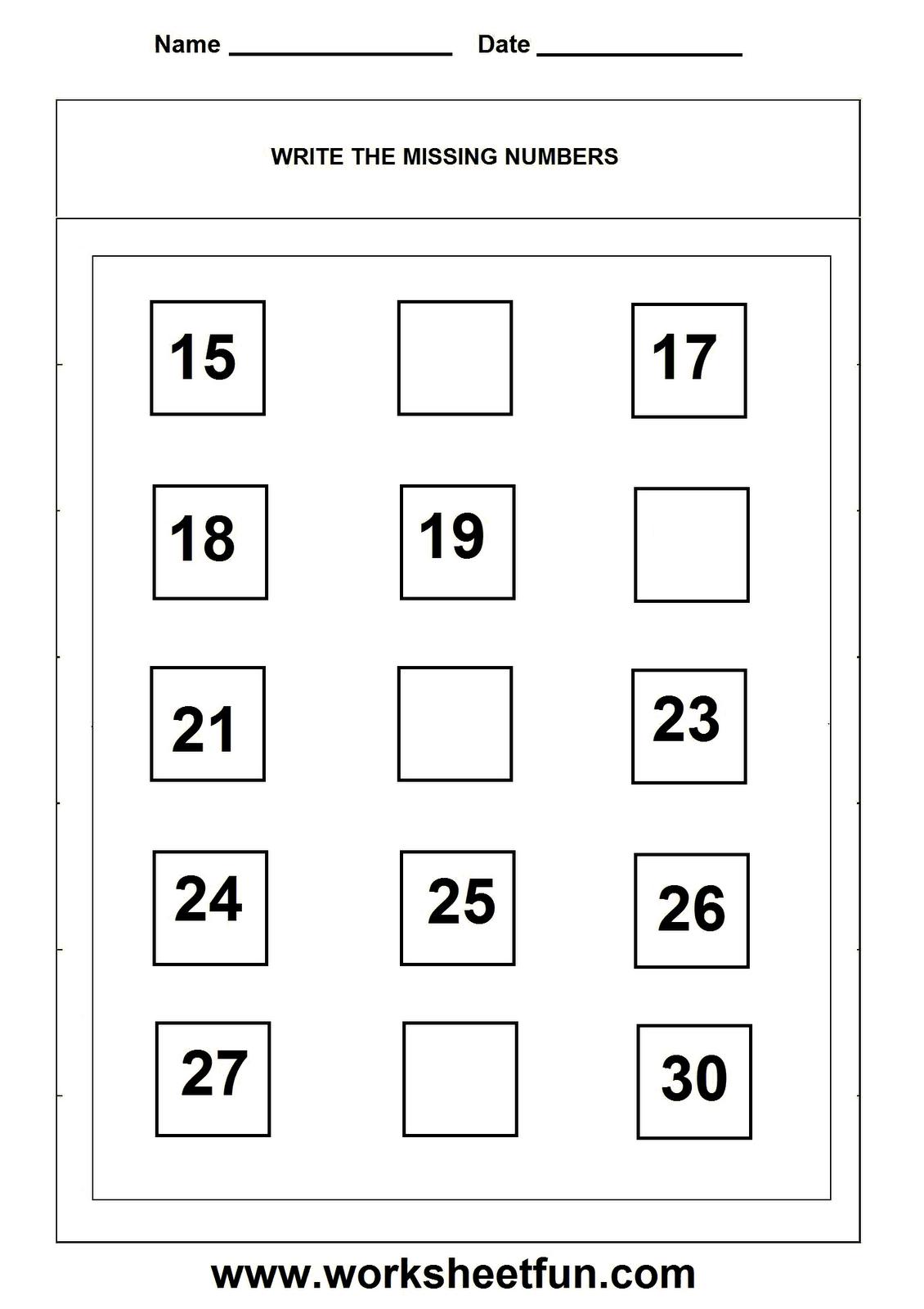 Missing Numbers Worksheet School Kindergarten Math Worksheets Missing Number Worksheets Math Worksheets Writing Worksheets Kindergarten [ 1600 x 1130 Pixel ]