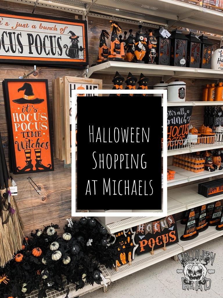 Halloween Shopping at Michaels Diy halloween decorations