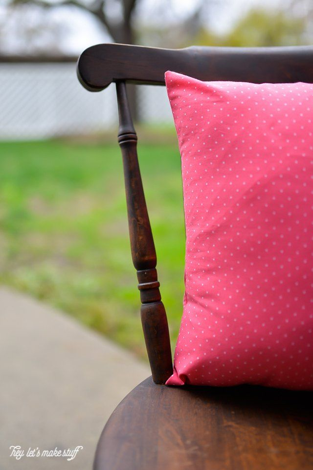 The 13 1/2-Minute Quick Sew Pillowcase