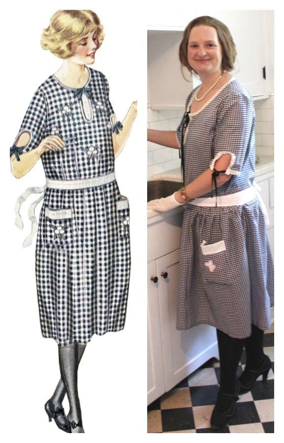 diy 1920s day dress