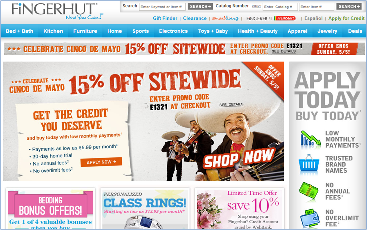 Bon Free Credit Catalogs  Buy Now Pay Later Cell Phones From Fingerhut
