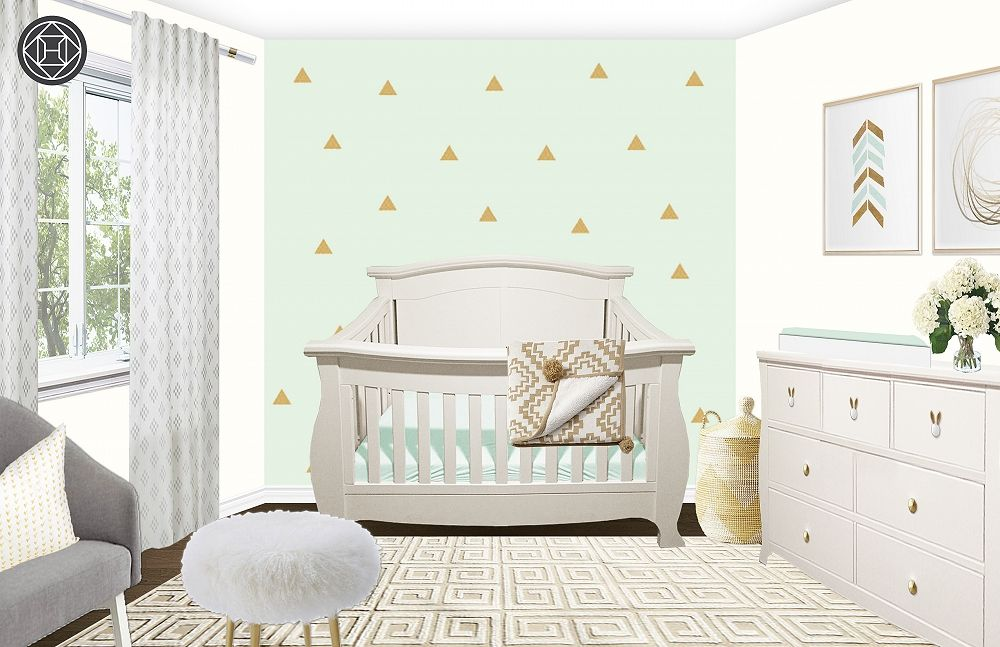 Contemporary Nursery by Havenly