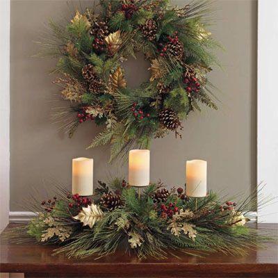 christmas wreaths decorations