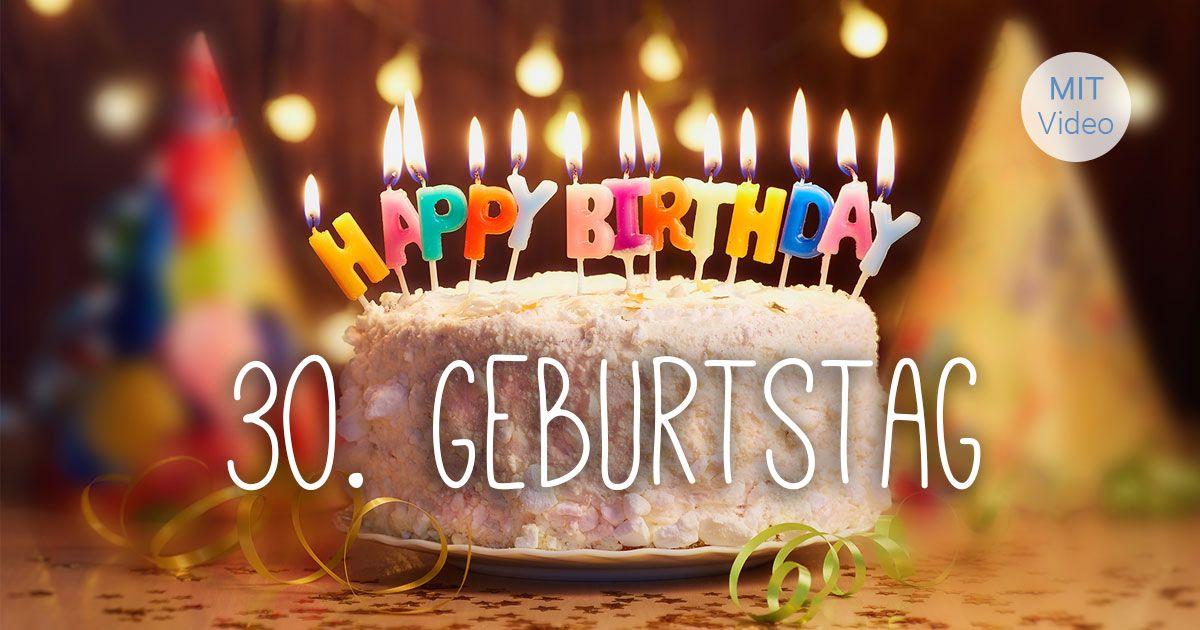 Gluckwunsche Zum 30 Geburtstag Geburtstag Bilder
