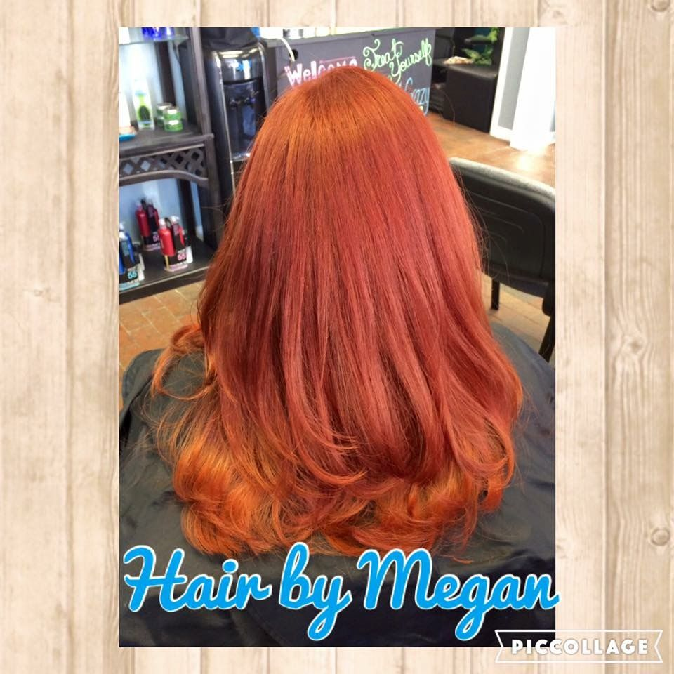 Hair by megan w i work at a salon in winter haven fl