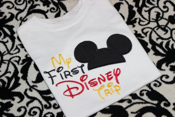 Inspired My First Disney Trip Shirt by LBChildrensBoutique on Etsy