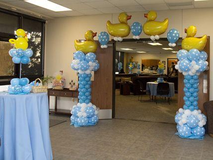 Baby Shower Balloon Decor Baby Shower Balloons Decoration Ideas 429x323