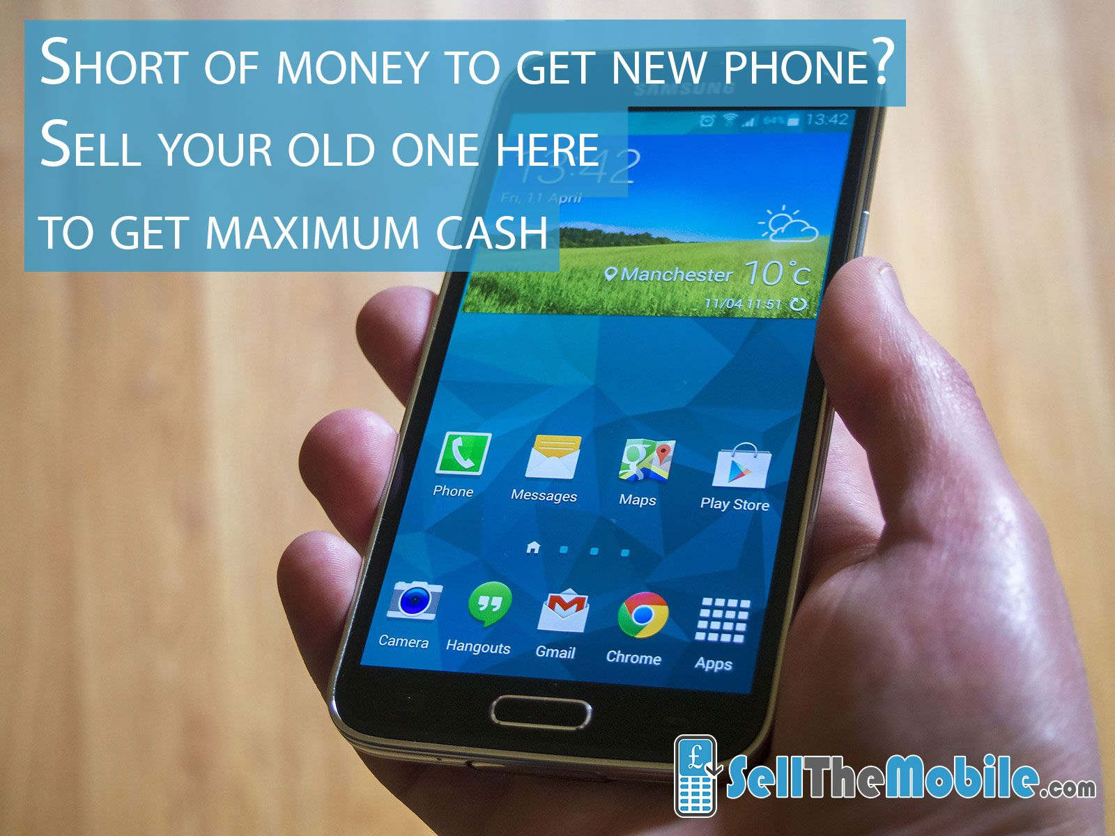 Short of money to get the new phone? Sell your old one