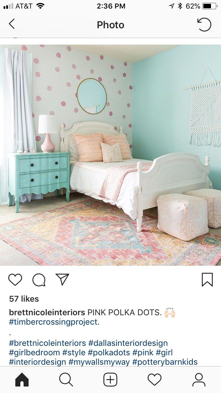 Pin By Megan Mccarthy On Toddler Girl Rooms Girls Room Paint Girls Bedroom Paint Blue Girls Rooms