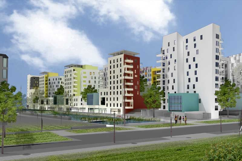 Wohnen Im Brahmsquartier: Nantes Tripode - Nantes Building