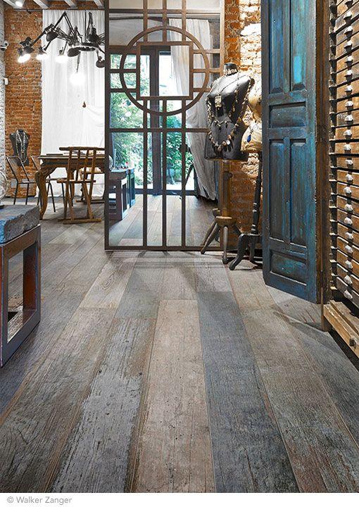 Porcelain Quot Barnwood Quot Wood Look Tile Wood Tile Floors How To Distress Wood