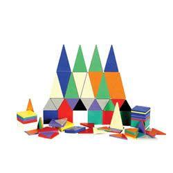 Magna-Tiles Solid Colors Set - 100 pieces - $110