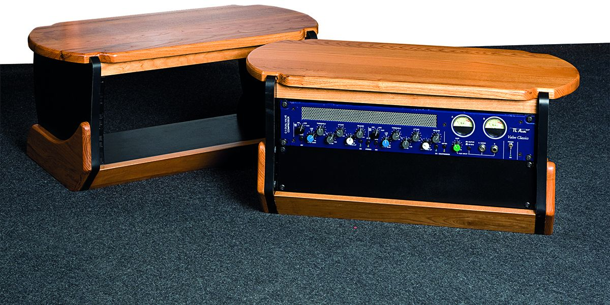 Desktop Rack In The Clic Zaor Style To Be Used On Top Of A Work Surface Such As Rackboard Racke Or Any Other Recording Studio Desk
