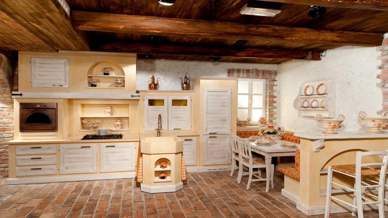 Cucina di campagna cucina rustica il borgo antico cucine muratura da vivere pinterest - Cucine di campagna ...