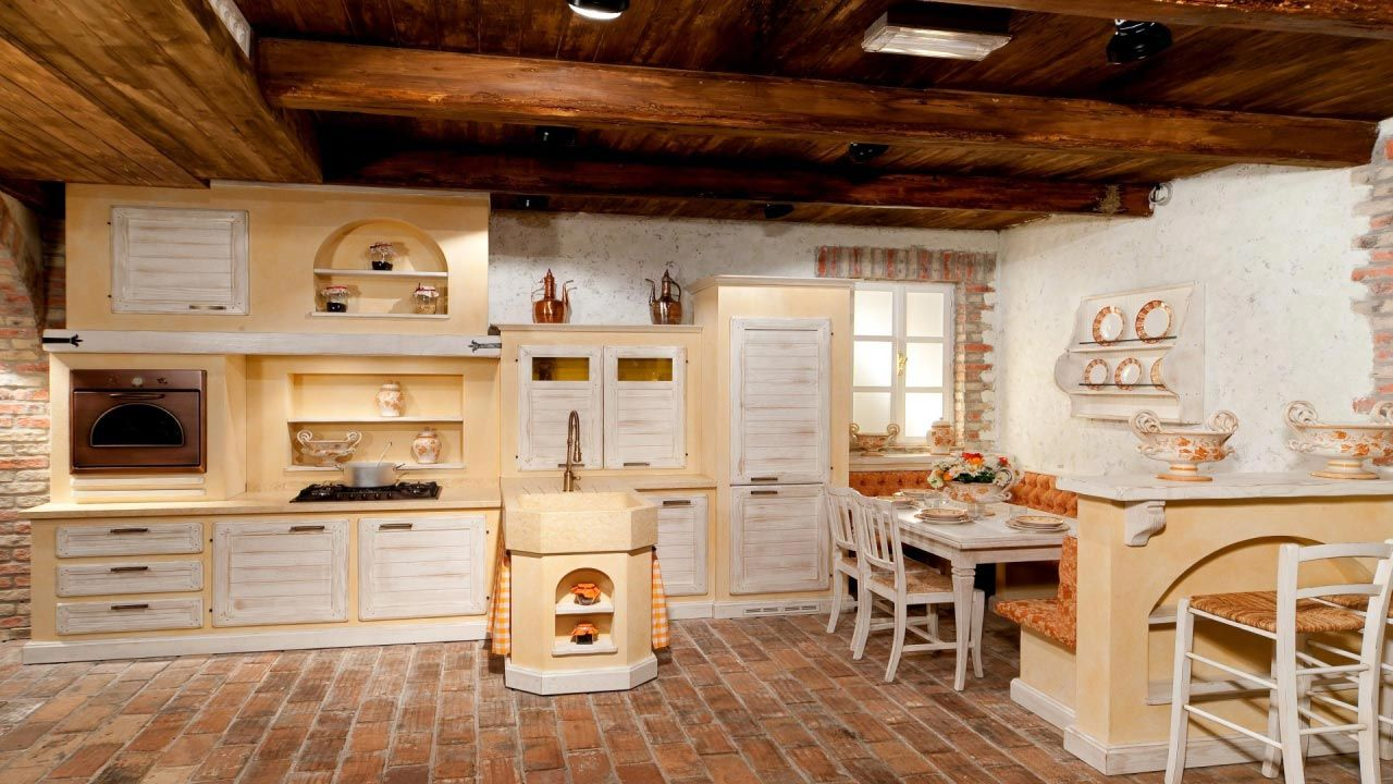 Cucina di campagna cucina rustica il borgo antico for Cucina di campagna inglese