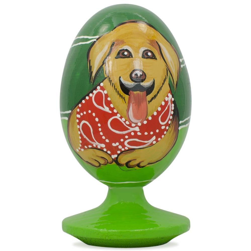 Golden Retriever Wooden Figurine Wooden Figurines Dogs Golden Retriever Pets For Sale