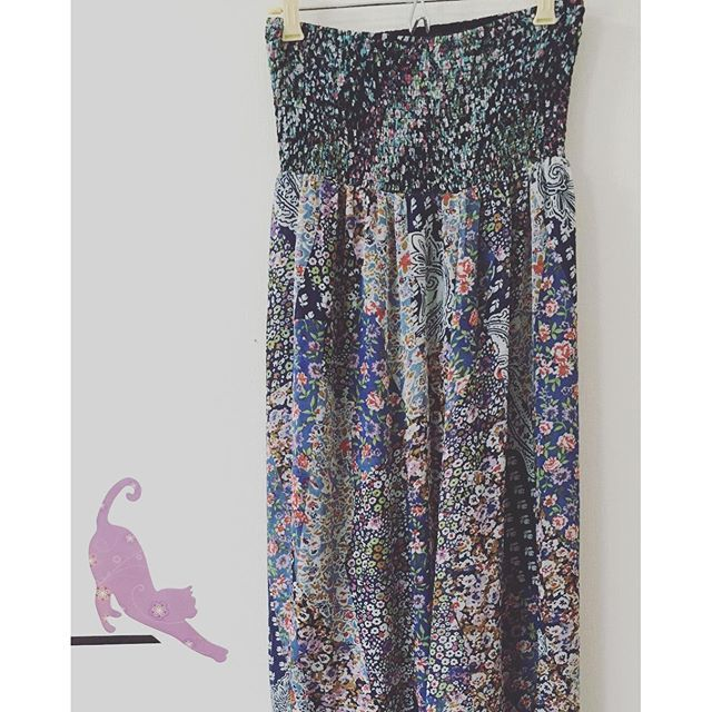 Brand-No brand listed , size-No size listed-beautiful blue flower halter maxi dress-$20.00 free shipping- link in bio                         Payment via PayPal only. Purchases are shipped within 1-3 business days of payment via Japanese Standard Air Mail with no tracking unless notified to add tracking for additional cost. Air mail usually takes 7-10 days to arrive   Returns accepted-buyers responsible for return shipping