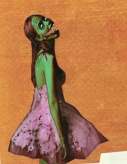 Magazine Zombie art