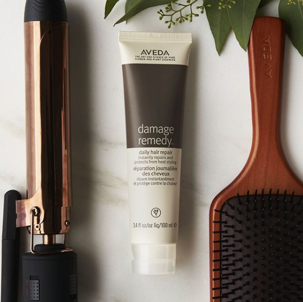 Instantly Repair Damage And Protect Your Hair From Heat Styling With Aveda S Damageremedy Daily Hair Repair So You Ca Heat Styling Products Hair Repair Aveda