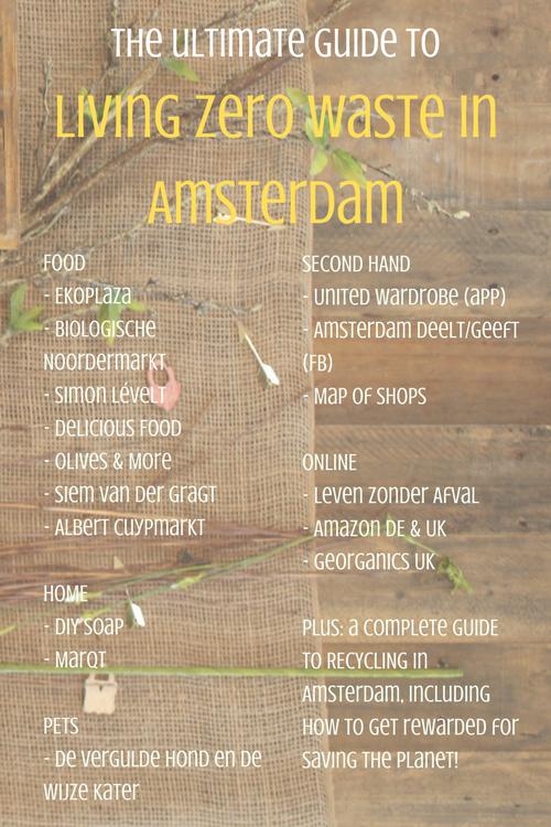 Ultimate Guide To Living Zero Waste In Amsterdam Zero Waste Apps Leven