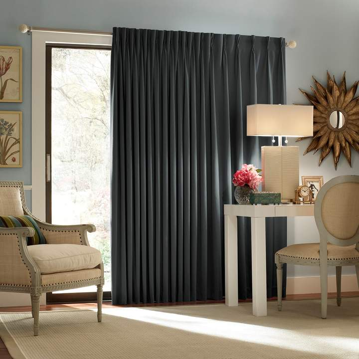 Eclipse Thermaweave Blackout 1 Panel Patio Door Curtain Our New