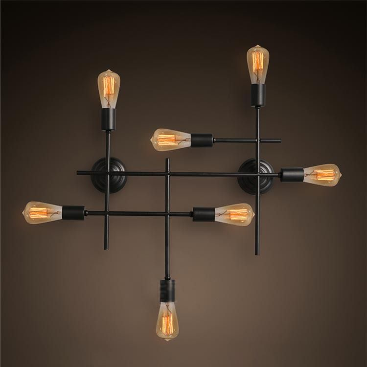 Light Wall Fixtures Quality Lighting Blog Directly From China Skype Suppliers Vintage American Loft Re Water Pipe Shelf