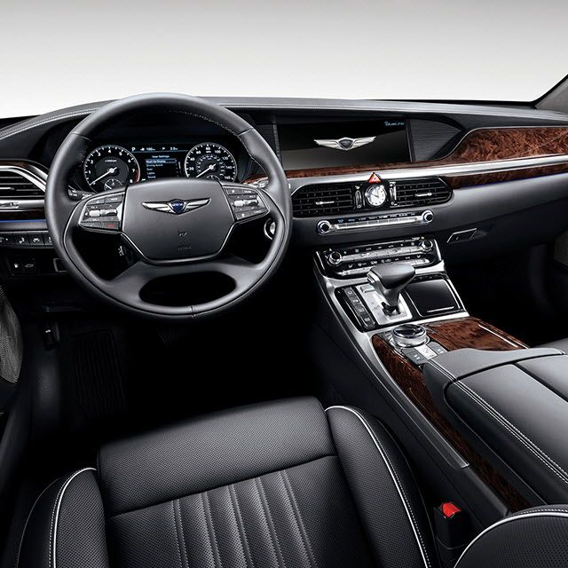Genesis G90 Exterior Interior Photo Gallery Usa