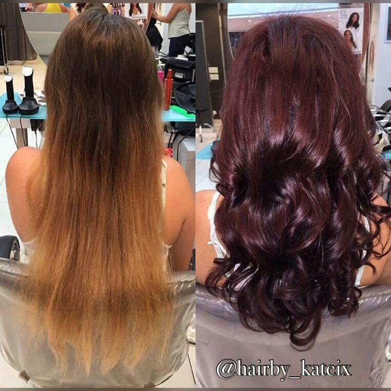 8ee958c21f48 Color change by Katherine Teixeira  clipsalon maple view mall ...