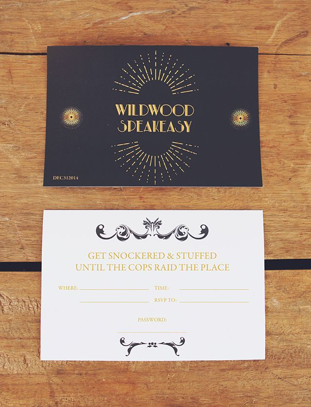 Free New Years Party Invitations Party invitations Speakeasy