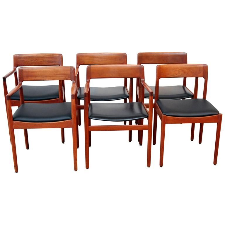 Johannes Norgaard Danish Teak Dining Chairs 1 Teak Dining Chairs Chair Dining Chairs
