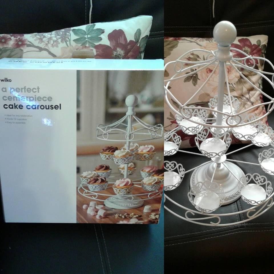 Carousel cupcake stand wilko my cake stand collection