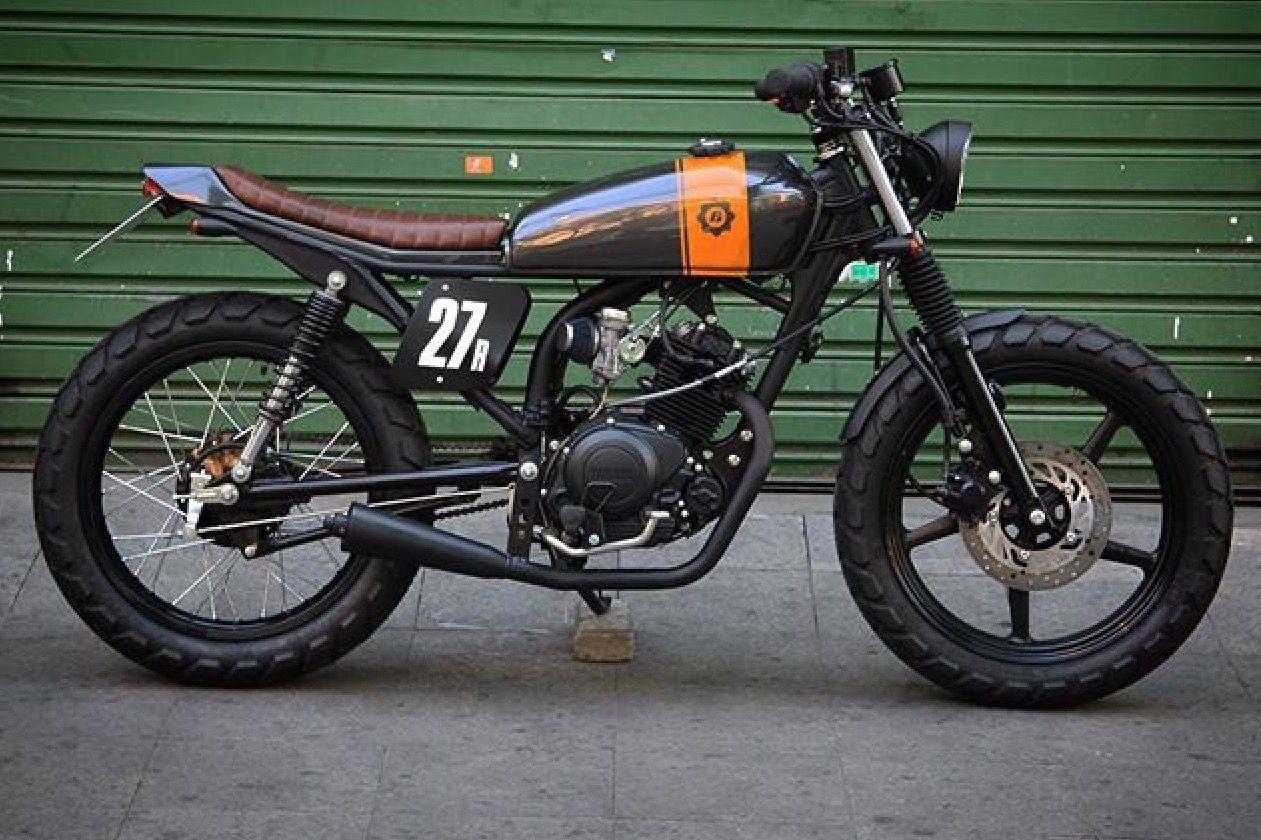 125cc Cafe Racer Honda Suzuki