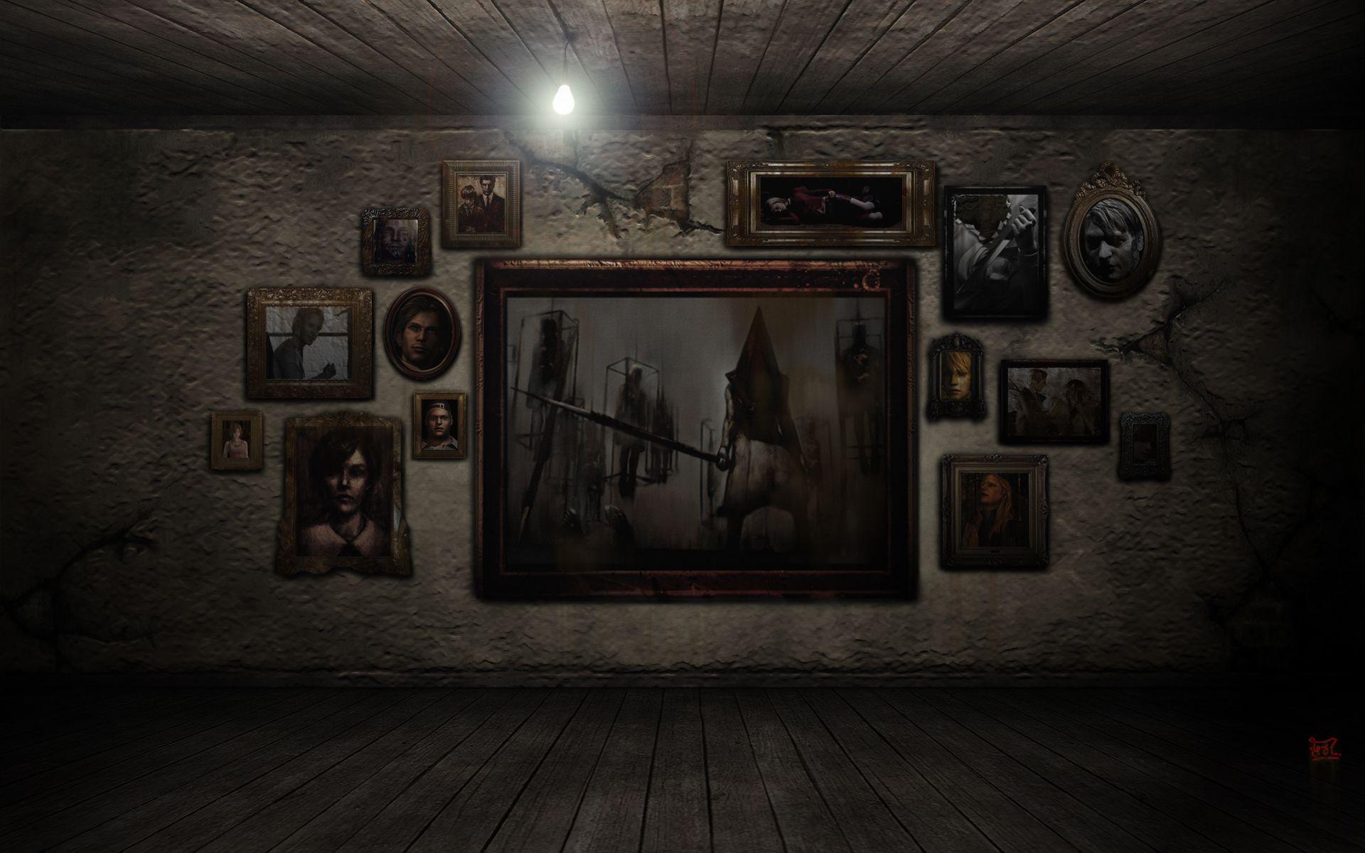 Silent Hill The Pic Room By Cerberus071984 On Deviantart Silent Hill Silent Free Desktop Wallpaper