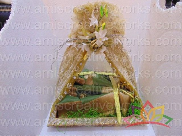 Saree Tray Trousseaux Packing Indian Wedding Amis Amiscreativeworks