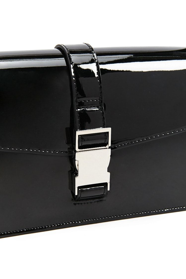 a7b8d5be3 Faux Patent Leather Square Crossbody Bag #Affiliate , #affiliate, #Leather,  #