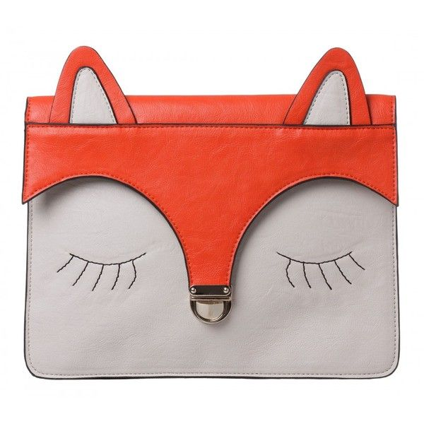 Fox Ipad Case (355 MXN) ❤ liked on Polyvore featuring accessories, tech accessories, bags, purses, clutches, ipad cover case and ipad sleeve case