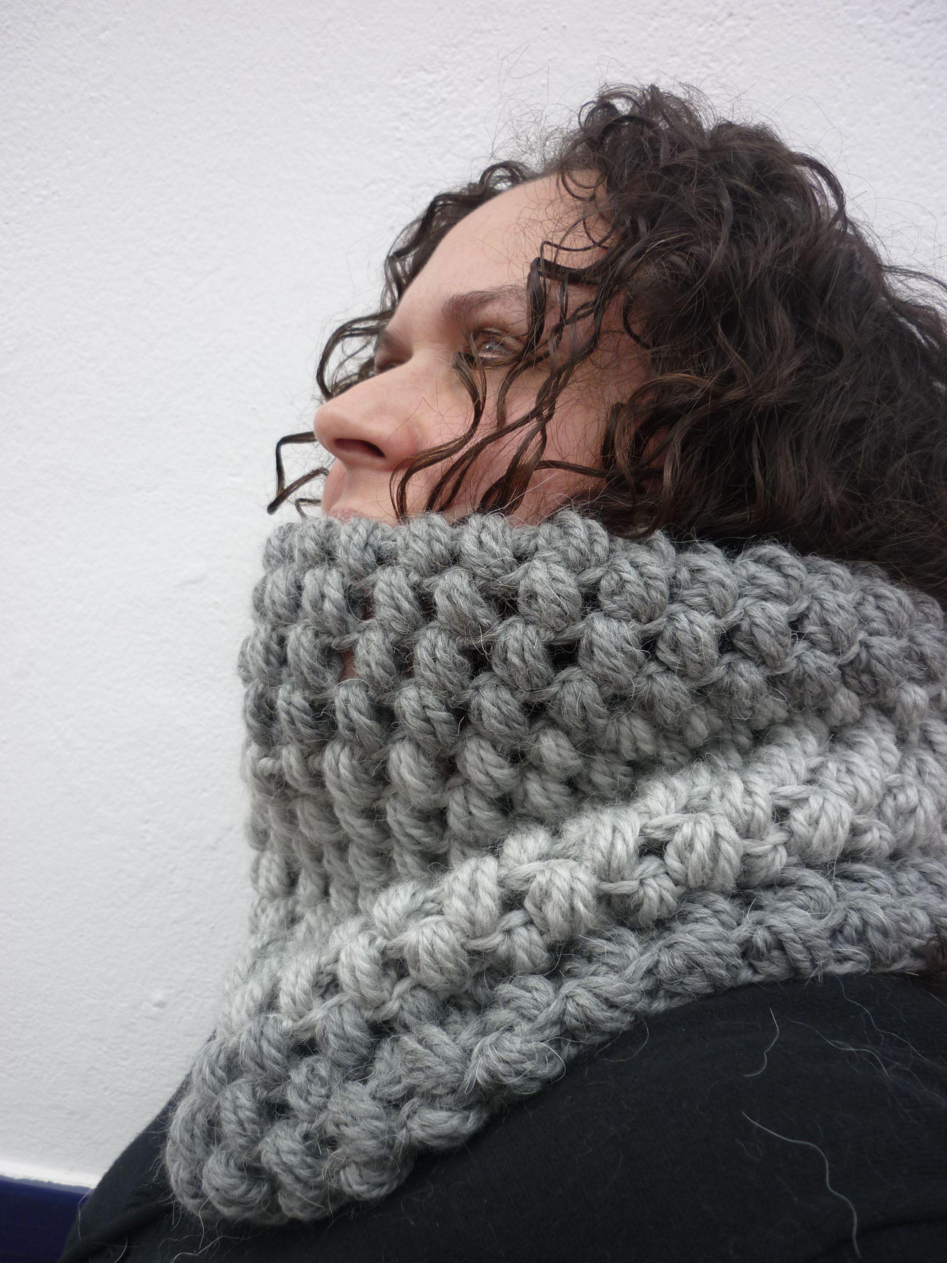 Cuello de Ganchillo/ Crochet cowl