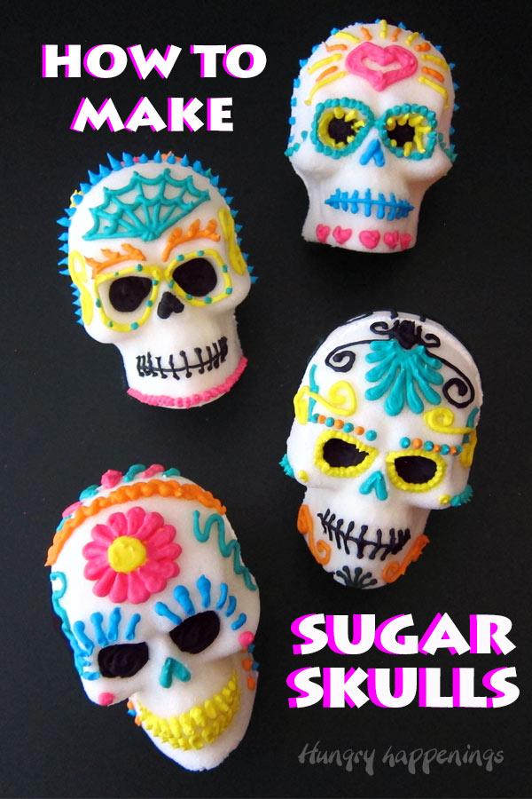 How To Make Sugar Skulls Without Meringue Powder