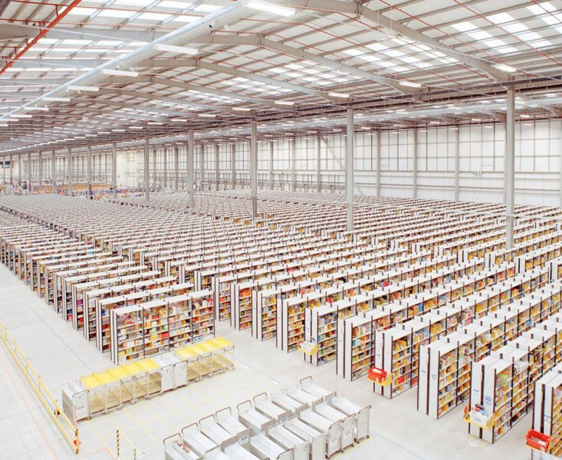 A Look Inside An Amazon Distribution Warehouse Amazon Unpacked