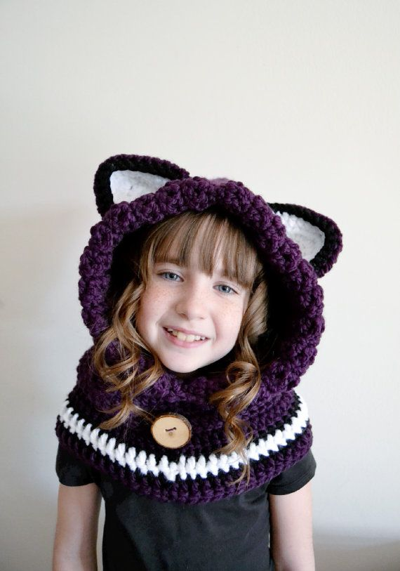 5aaaf09b370 Fox Hat - Fox Hoodie - Fox Cowl - Animal Hat - Hooded Scarf ...