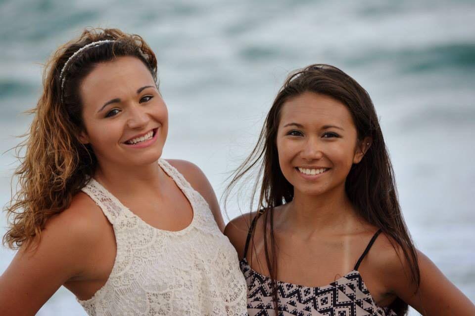 my best friend and I #beach #bestfriend #photography