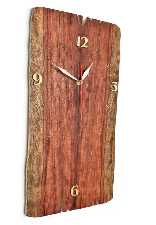 Horloge Faite Main En Bois De Bubinga Sur Dawanda Com 3 Bubinga