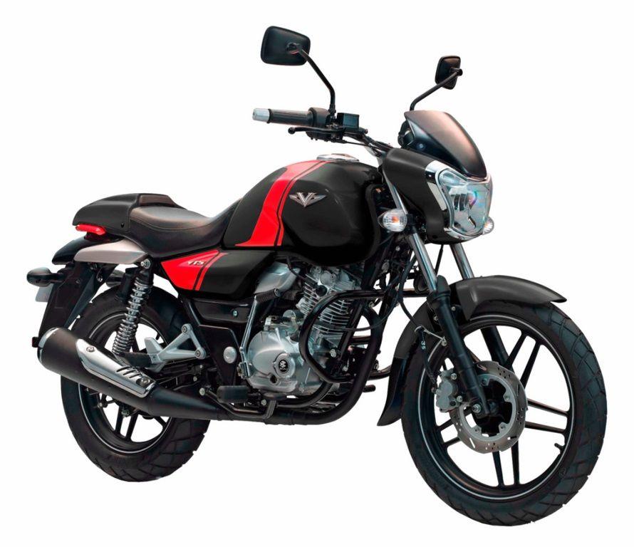 Bajaj V15 Black Red Stripes Bike News Cool Bikes Bike India