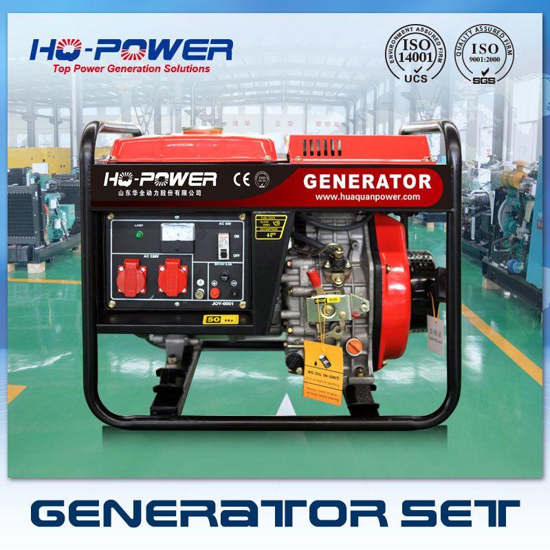 220 volt small portable diesel generator 3000 watt myanmar