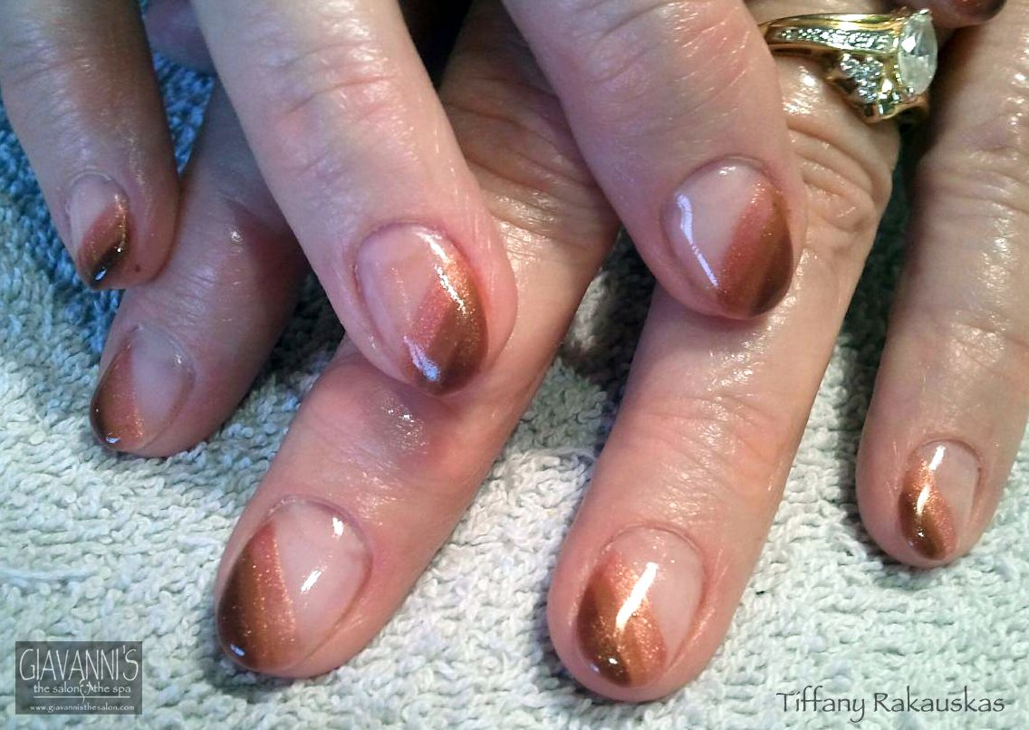 Brown Ombre Nail Art | Giavanni\'s Nail Art | Pinterest
